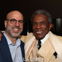 Larry Hirschhorn and André De Shields. Photo by Lia Chang