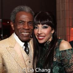 André De Shields and Yvette Gonzalez-Nacer. Photo by Lia Chang