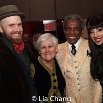 Liam Robinson, Penny Ritco, André De Shields and Yvette Gonzalez-Nacer. Photo by Lia Chang
