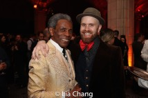 André De Shields and Liam Robinson. Photo by Lia Chang