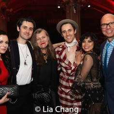Adriana Stan, Zane Carney, Marti Heil, Reeve Carney, Eva Noblezada. Photo by Lia Chang