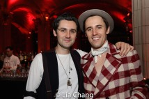 Zane Carney and Reeve Carney. Photo by Lia Chang