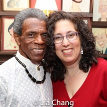 André De Shields and Mara Isaacs. Photo by Lia Chang