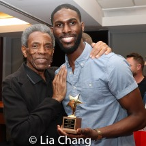 2019 Tony Award winner André De Shields with 2019 ACCA Award winner Malcolm Armwood. Photo by Lia Chang