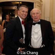Tom Kirdahy and Terrence McNally, winner of the Special Tony Award for Lifetime Achievement in the Theatre at The Plaza Hotel on June 9, 2019 in New York City. Photo by Lia Chang