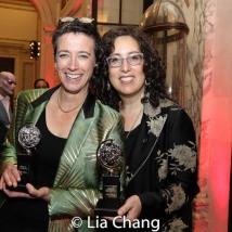 2019 Tony Award winner Rachel Hauck and Mara Isaacs. Photo by Lia Chang