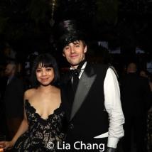 2019 Tony nominee Eva Noblezada and Reeve Carney. Photo by Lia Chang