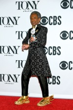"André De Shields, winner of the award for Best Performance by an Actor in a Featured Role in a Musical for ""Hadestown,"" poses in the press room for the 73rd Annual Tony Awards at 3 West Club on June 9, 2019 in New York City. (Photo by Mike Coppola/Getty Images for Tony Awards Productions)"