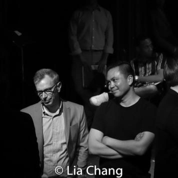 Arnie Burton and Jose Llana. Photo by Lia Chang