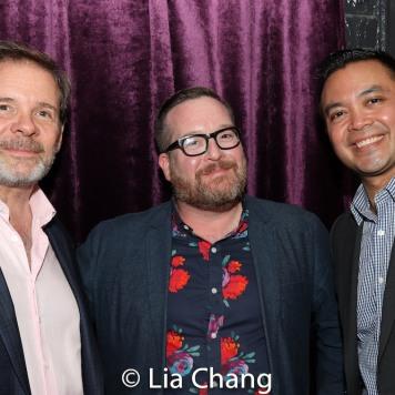 Thomas Jay Ryan, Michael Cyril Creighton and Jose Llana. Photo by Lia Chang