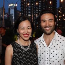 Lia Chang and Marc delaCruz. Photo by Garth Kravits