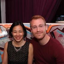 Lia Chang and Daniel Dunlow. Photo by Garth Kravits