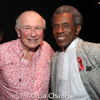 2019 Tony Awards winners Terrence McNally and André De Shields. Photo by Lia Chang