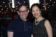 Garth Kravits and Lia Chang. Photo by Billy Bustamante