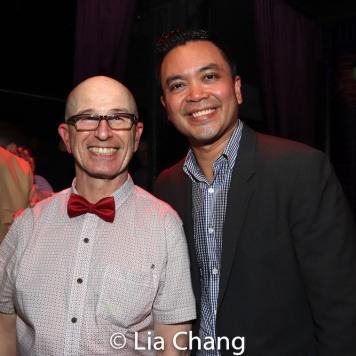 Everett Quinton and Jose Llana. Photo by Lia Chang
