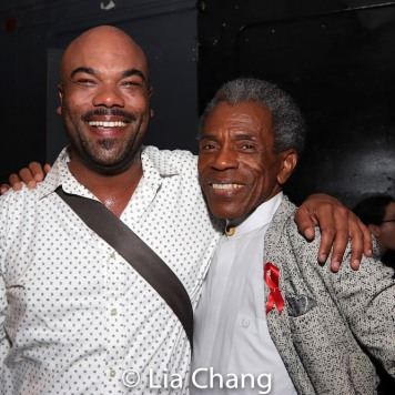 David Ryan Smith and André De Shields. Photo by Lia Chang