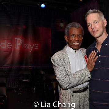André De Shields and William Carlton. Photo by Lia Chang