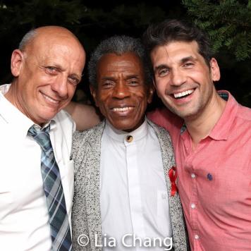 Tom Viola, André De Shields and Michael Pereira. Photo by Lia Chang