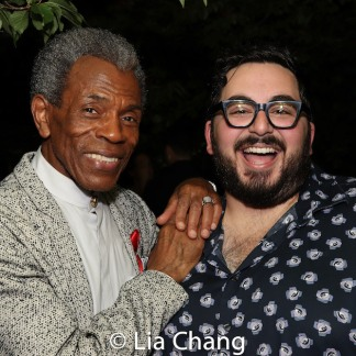 André De Shields and Michael Shayan. Photo by Lia Chang