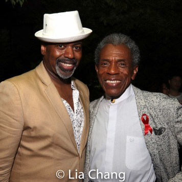 Lance Roberts and André De Shields. Photo by Lia Chang