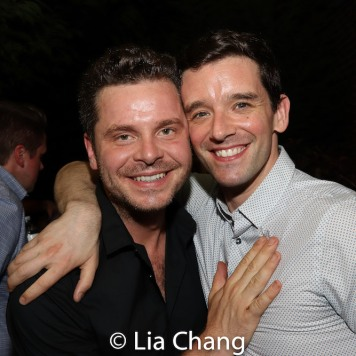 Nick Mayo and Michael Urie. Photo by Lia Chang