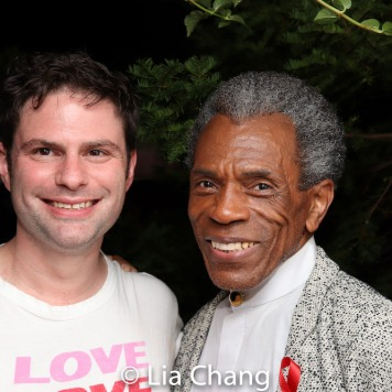 Doug Nevin and André De Shields. Photo by Lia Chang