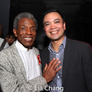 André De Shields and Jose Llana. Photo by Lia Chang