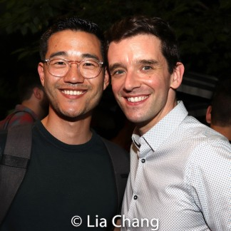 Daniel K. Isaac and Michael Urie. Photo by Lia Chang