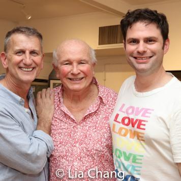 Tom Kirdahy, Terrence McNally and Doug Nevin. Photo by Lia Chang