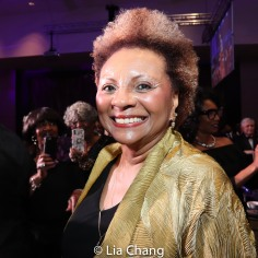 Leslie Uggams, 2019 NBTF Sidney Poitier Lifelong Achievement Award Winner. Photo by Lia Chang