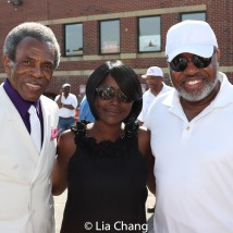 Grand Marshal André De Shields and Catalina Byrd. Photo by Lia Chang