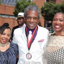 Grand Marshal André De Shields at Baltimore's 2019 Pennsylvania Avenue Cadillac Auto Parade. Photo by Lia Chang
