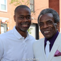 Councilman Leon F. Pinkett III, District 7 and André De Shields. Photo by Lia Chang