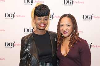 Ericka Dickerson-Despenza and Candis C. Jones. Photo by Lia Chang