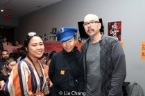 "El Jubilation Lee, Mei-yann Hwang and Scott ""Chops"" Jung. Photo by Lia Chang"