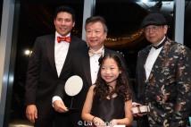 Jonathan Chu, Tzi Ma, Olivia Chan and Corky Lee. Photo by Lia Chang