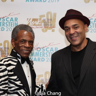 André De Shields and Tony Perry. Photo by Lia Chang