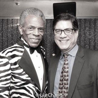 André De Shields and Philip Carrubba. Photo by Lia Chang