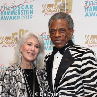 Jamie deRoy and André De Shields. Photo by Lia Chang