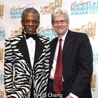 André De Shields, Ted Chapin. Photo by Lia Chang