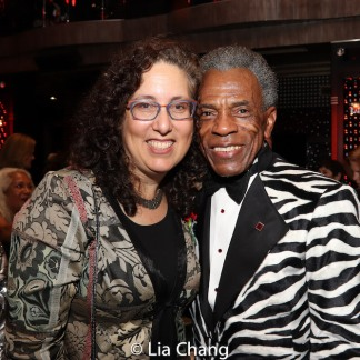 Mara Isaacs and André De Shields. Photo by Lia Chang