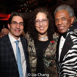 Michael Unger, Mara Isaacs, André De Shields. Photo by Lia Chang