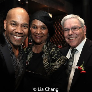 Darius de Haas, Willette and Manny Klausner. Photo by Lia Chang
