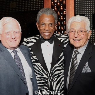 Ted Snowdon, André De Shields, Duffy Violante. Photo by Lia Chang