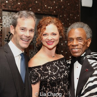 Jimmy Ludwig, Kristen Beth Williams, André De Shields. Photo by Lia Chang