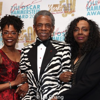 Charlayne Woodard, André De Shields and Freida Williams. Photo by Lia Chang