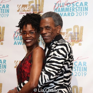 André De Shields and Charlayne Woodard. Photo by Lia Chang