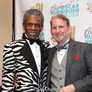 André De Shields and Evan Haile. Photo by Lia Chang