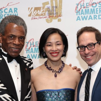 André De Shields, Lia Chang and Garth Kravits. Photo by Philip Carruba