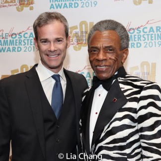 James Ludwig, André De Shields. Photo by Lia Chang